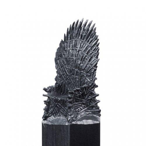 """Скульптуры на кончиках карандашей, вдохновлённые фильмом """"Игра престолов"""" (16 фото)"""