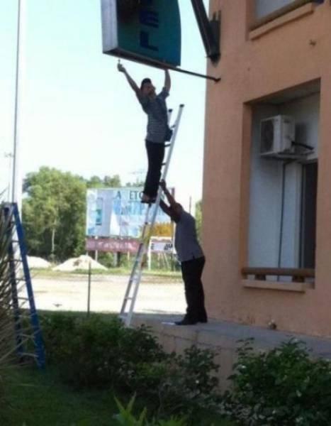 Техника безопасности в действии и бездействии (21 фото)