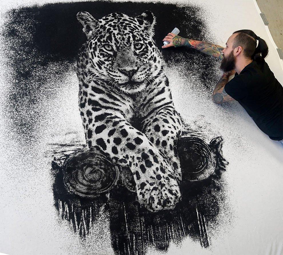 Реалистичные и экспрессивные рисунки Дино Томича (30 фото)