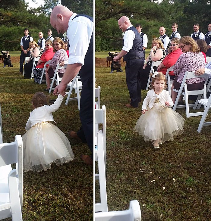 Человека на свадьбу детям