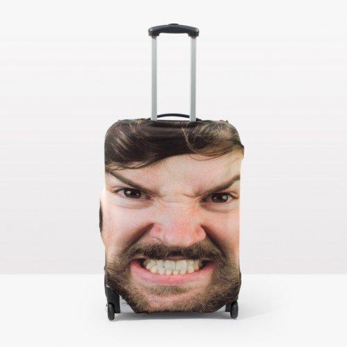 Head Case: чехол на чемодан, который не спутаешь с другими (4 фото)