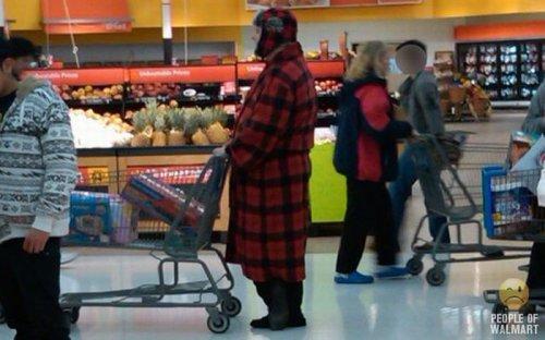 Чудаки и чудачества в Walmart (30 фото)