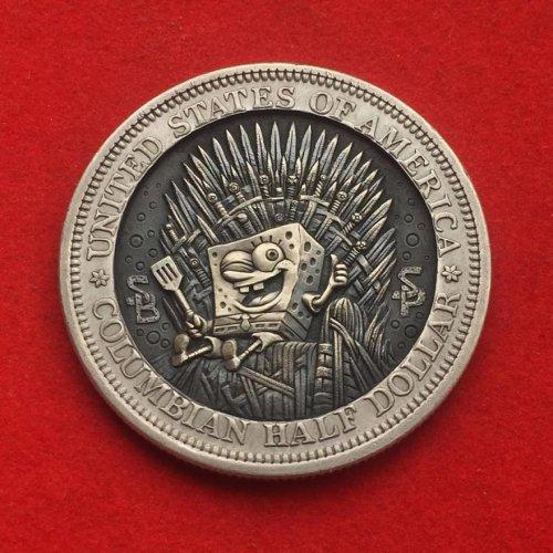 Монеты как произведения гравировального искусства (25 фото)