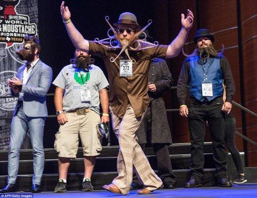 В Остине прошёл чемпионат мира среди усачей и бородачей (19 фото)