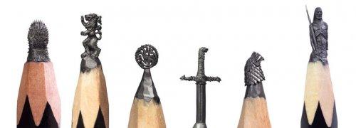Карандашное искусство: минискульптуры, открывающие скрытую красоту привычных предметов (33 фото + видео)