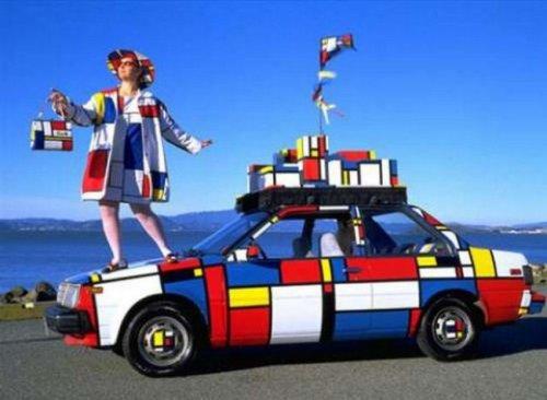 Странные и необычные автомобили (24 фото)
