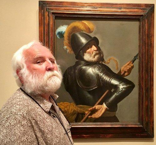 Когда идёшь в музей и видишь своего двойника на картине (21 фото)