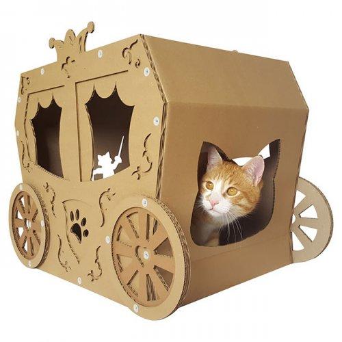 Симпатичные картонные домики для кошек от CacaoPets (15 фото)