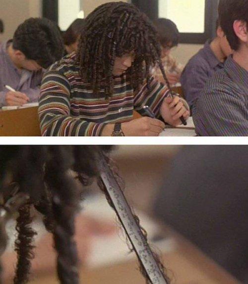 Захочешь сдать экзамен — ещё не то придумаешь! (23 фото)