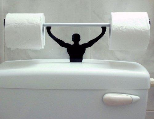 Необычные и прикольные держатели для туалетной бумаги (18 фото)