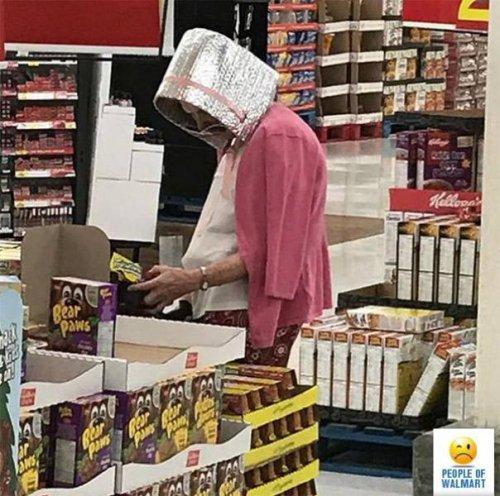 Чудаки и чудачества в Walmart (29 фото)