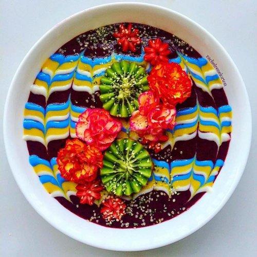 Красочный вегетарианский фуд-арт Рэйчел Лортон (13 фото)
