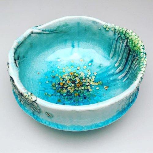 Керамические чаши и вазы, вдохновлённые осиновыми лесами Колорадо (8 фото)