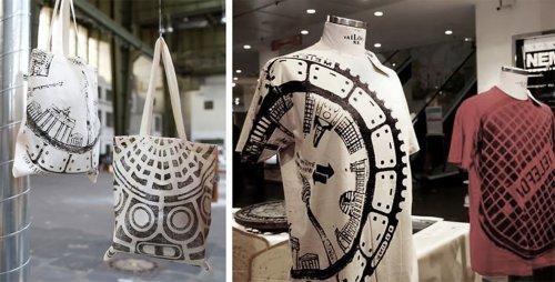 Дизайнер придаёт одежде уникальность, отпечатывая на ней рисунки крышек люков европейских городов (16 фото)