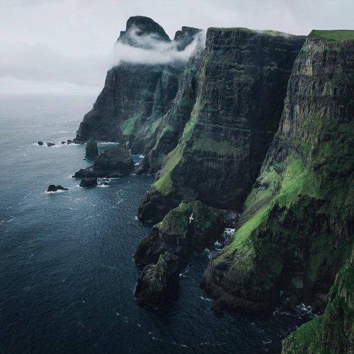 Фарерские острова — идеальное место уединения (9 фото)