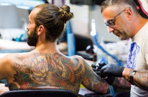 Международная Лондонская тату-конвенция 2017 (11 фото)