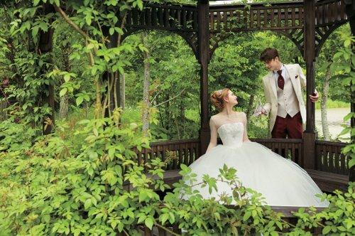 Свадебные платья в стиле диснеевских принцесс (9 фото)