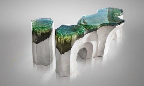 Румынский дизайнер Эдуард Локота создаёт завораживающую мебель, вдохновляясь любовью к морю (15 фото)