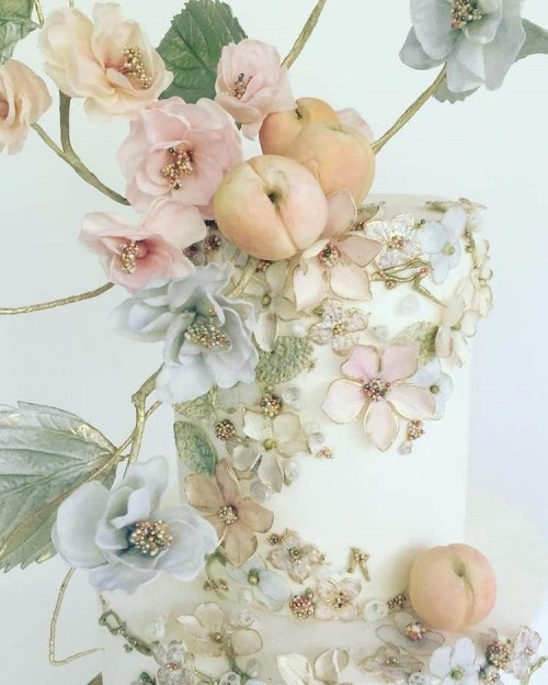 Потрясающие торты от Мэгги Остин с невероятно реалистичными цветами (18 фото)