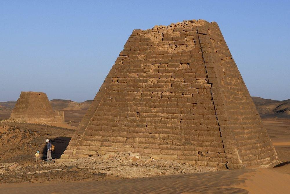 судан пирамиды фото немного набьешь