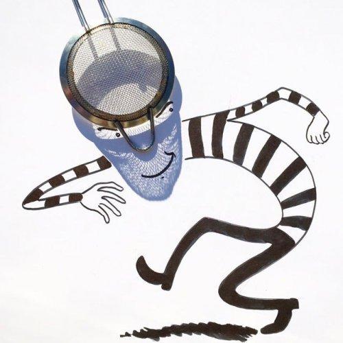 Рисунки с тенями от Винсента Баля (21 фото)