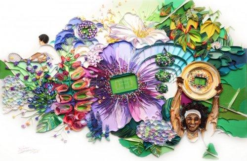 Потрясающий красочный квиллинг от Юлии Бродской (10 фото)