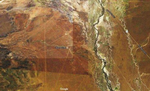Таинственные Сахамские линии в Боливии (5 фото)