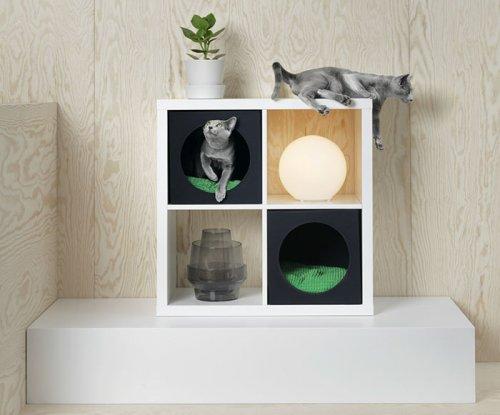 IKEA выпустила коллекцию мебели для домашних животных (14 фото)