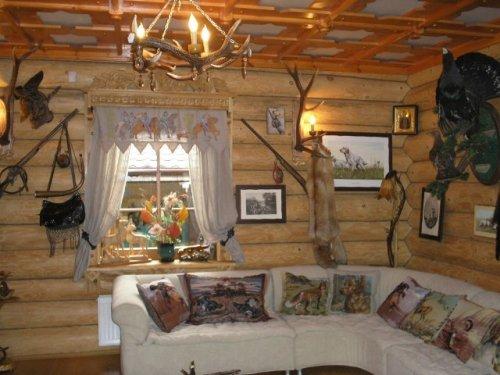 Дизайн дома охотника