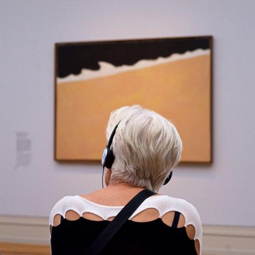 Посетители музеев, органично выглядящие на фоне картин (15 фото)