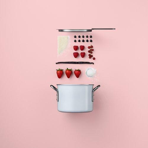 Лаконичная рекламная фотосессия для бренда скандинавской посуды Eva (9 фото)