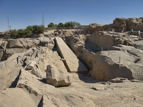 Незаконченный обелиск Асуана (7 фото)