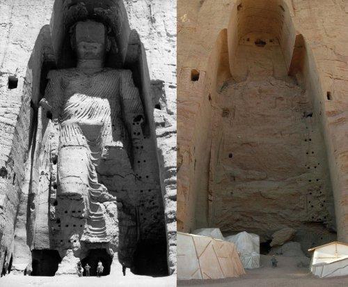 Бамианские статуи Будды, которых мир лишился навсегда (11 фото)
