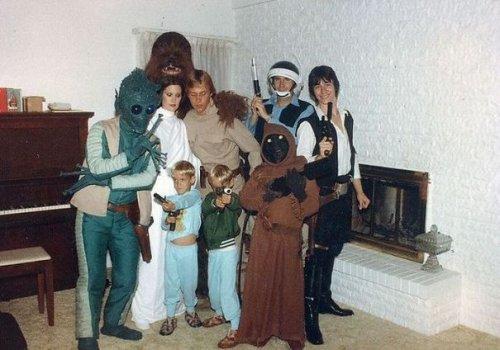 Прикольные костюмы на Хэллоуин для всей семьи (34 фото)