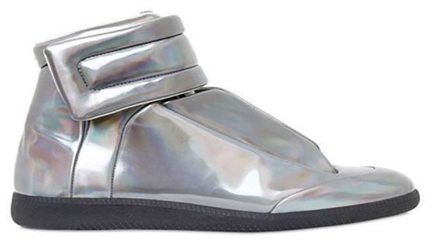 a06f26384fd 21. Ботинки Margiela Metallic Future Sneakers