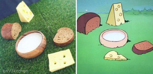 Креативная японка воссоздаёт еду из мультиков Хаяо Миядзаки (29 фото)