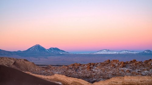 Завораживающие ландшафты пустыни Атакама (18 фото)