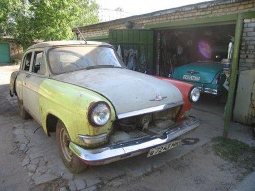 Отреставрированная Волга 1970 года выпуска (22 фото)