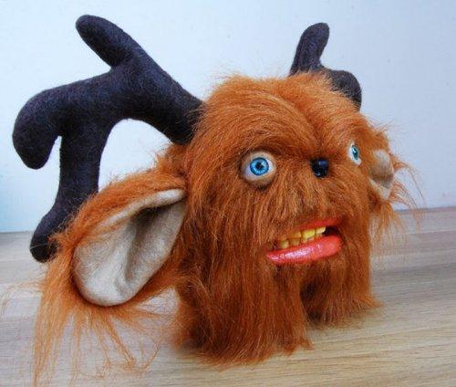 Жуткие плюшевые игрушки от Анны Стерник (15 фото)