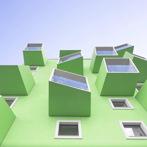 Необычные минималистичные архитектурные фотографии Кевина Краутгартнерса (29 фото)