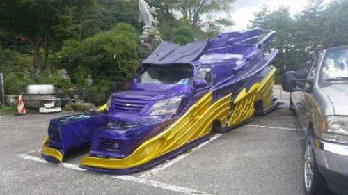 Странные и необычные автомобили (25 фото)