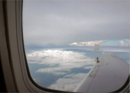 Приколы и казусы на борту самолёта (20 фото)