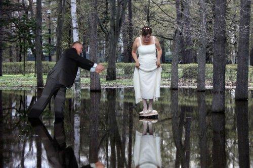 Свадебные фотографии, которые можно было не делать (19 фото)
