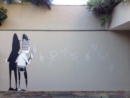 Стрит-арт художника Алекса Сенны (10 фото)