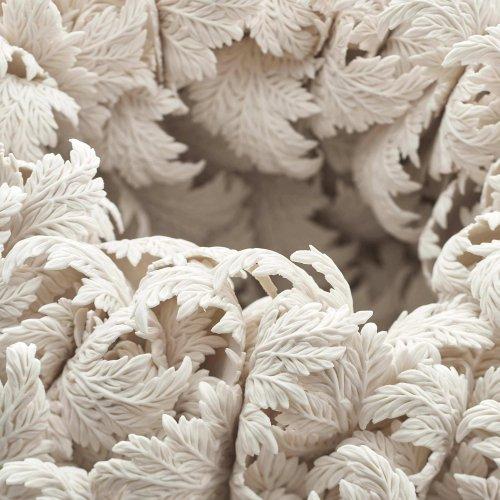 Фарфоровые цветочные сосуды Хитоми Хосоно (10 фото)