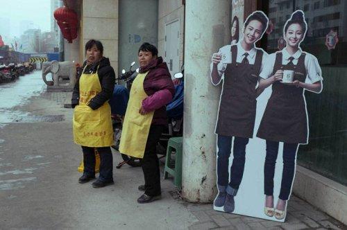 Забавные уличные фотографии Тао Лю (21 шт)
