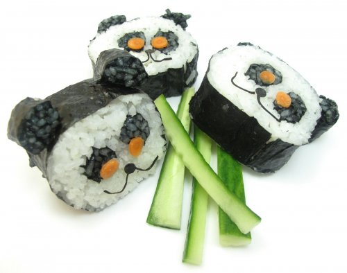 Изумительный дизайн суши, который привлечёт внимание любого ребёнка (17 фото)