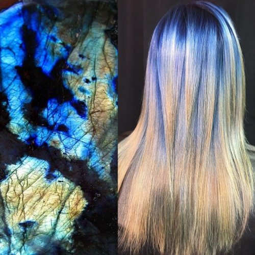 Парикмахер переносит красоту природы в ослепительно окрашенные волосы (13 фото)