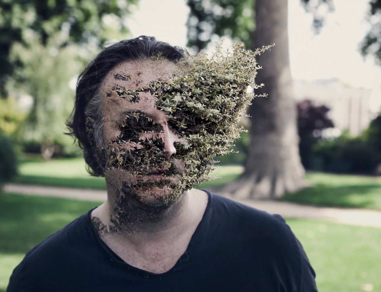 картинки человека с растениями новые
