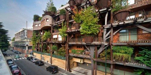 25 Verde в Турине: дом на дереве в посреди города (19 фото)